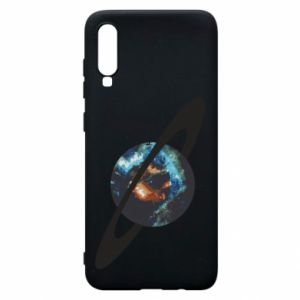 Samsung A70 Case Planet in space