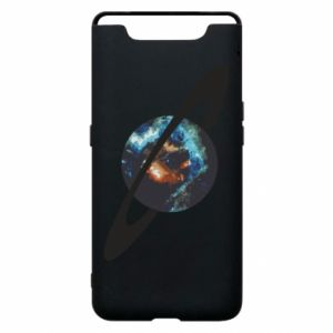 Samsung A80 Case Planet in space