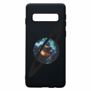 Samsung S10 Case Planet in space