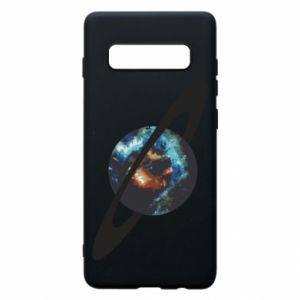Samsung S10+ Case Planet in space