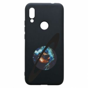 Xiaomi Redmi 7 Case Planet in space