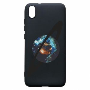 Xiaomi Redmi 7A Case Planet in space