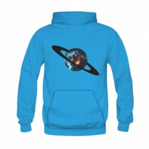 Kid's hoodie Planet in space