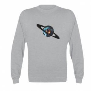 Kid's sweatshirt Planet in space