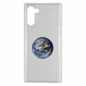 Etui na Samsung Note 10 Planeta Ziemia