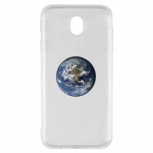 Etui na Samsung J7 2017 Planeta Ziemia