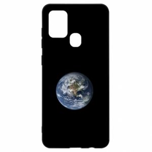 Etui na Samsung A21s Planeta Ziemia