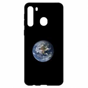 Etui na Samsung A21 Planeta Ziemia