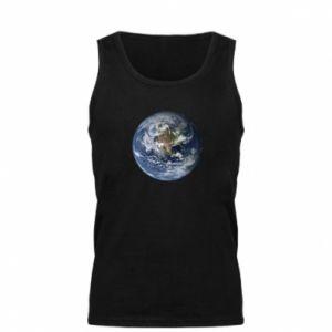 Męska koszulka Planeta Ziemia - PrintSalon