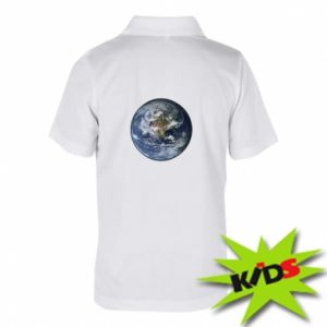 Children's Polo shirts Planet Earth
