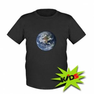 Kids T-shirt Planet Earth