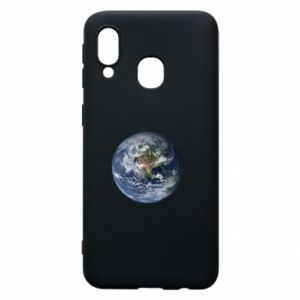 Phone case for Samsung A40 Planet Earth