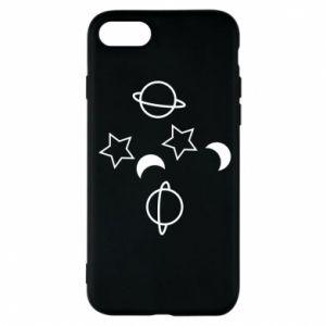 Etui na iPhone 8 Planets and stars