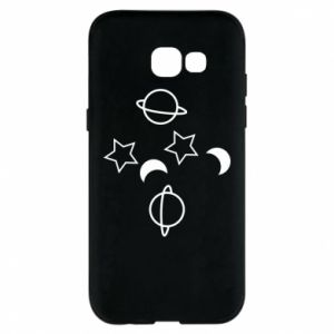 Etui na Samsung A5 2017 Planets and stars
