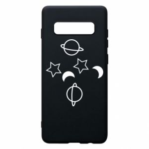 Etui na Samsung S10+ Planets and stars