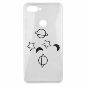 Etui na Xiaomi Mi8 Lite Planets and stars