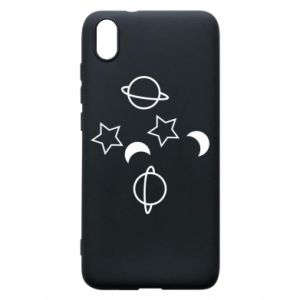 Etui na Xiaomi Redmi 7A Planets and stars