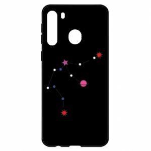 Etui na Samsung A21 Planety i gwiazdy na niebie