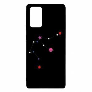 Etui na Samsung Note 20 Planety i gwiazdy na niebie
