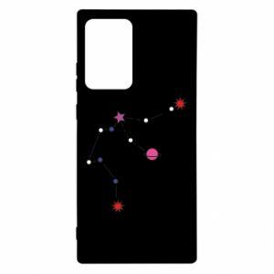 Etui na Samsung Note 20 Ultra Planety i gwiazdy na niebie