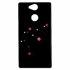 Etui na Sony Xperia XA2 Planety i gwiazdy na niebie