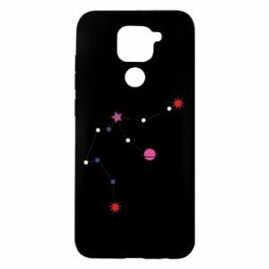 Etui na Xiaomi Redmi Note 9/Redmi 10X Planety i gwiazdy na niebie
