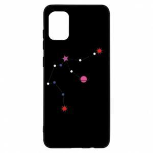 Etui na Samsung A31 Planety i gwiazdy na niebie