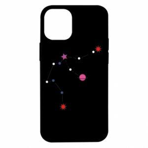 Etui na iPhone 12 Mini Planety i gwiazdy na niebie