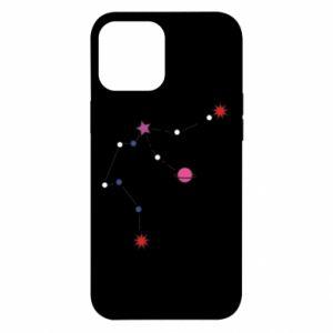 Etui na iPhone 12 Pro Max Planety i gwiazdy na niebie