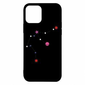 Etui na iPhone 12/12 Pro Planety i gwiazdy na niebie