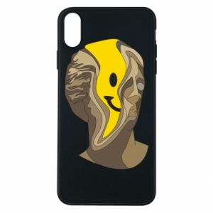 Phone case for iPhone Xs Max Plaster figure with a smiley