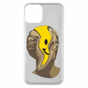 Phone case for iPhone 11 Plaster figure with a smiley