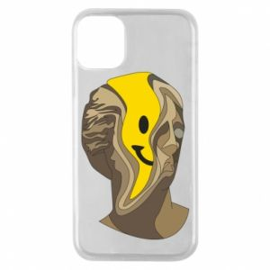 Phone case for iPhone 11 Pro Plaster figure with a smiley