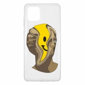 Etui na Samsung Note 10 Lite Plaster figure with a smiley