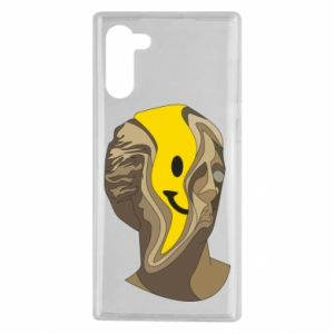 Etui na Samsung Note 10 Plaster figure with a smiley