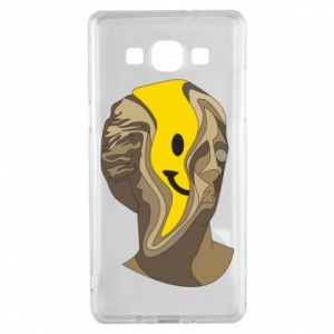Etui na Samsung A5 2015 Plaster figure with a smiley