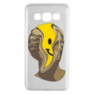 Etui na Samsung A3 2015 Plaster figure with a smiley
