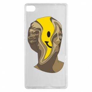 Etui na Huawei P8 Plaster figure with a smiley