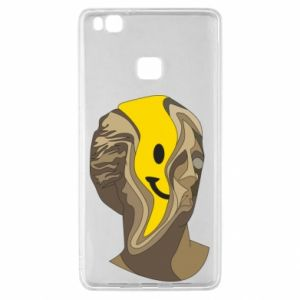 Etui na Huawei P9 Lite Plaster figure with a smiley