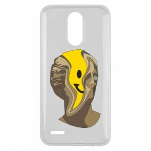 Etui na Lg K10 2017 Plaster figure with a smiley
