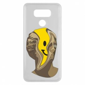 Etui na LG G6 Plaster figure with a smiley