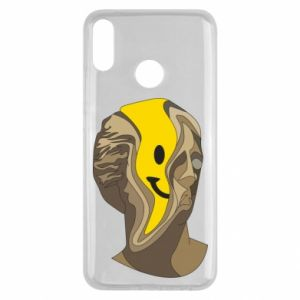Etui na Huawei Y9 2019 Plaster figure with a smiley