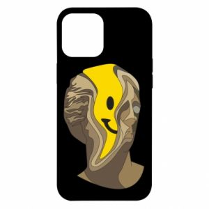 Etui na iPhone 12 Pro Max Plaster figure with a smiley