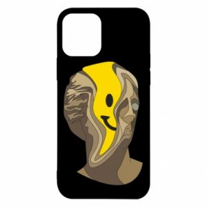Etui na iPhone 12/12 Pro Plaster figure with a smiley