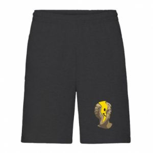 Men's shorts Plaster figure with a smiley