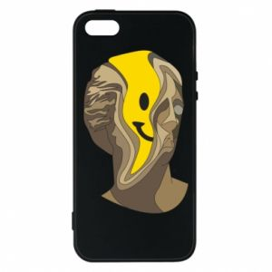Phone case for iPhone 5/5S/SE Plaster figure with a smiley