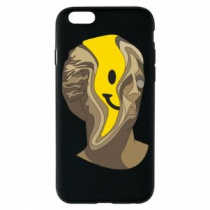 Phone case for iPhone 6/6S Plaster figure with a smiley