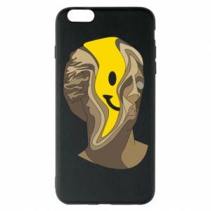 Phone case for iPhone 6 Plus/6S Plus Plaster figure with a smiley