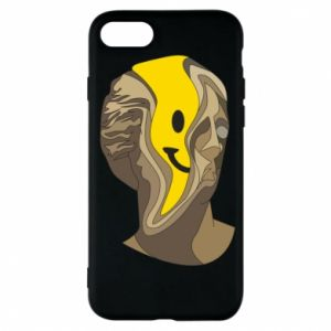 Phone case for iPhone 7 Plaster figure with a smiley