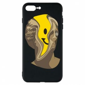 Phone case for iPhone 7 Plus Plaster figure with a smiley